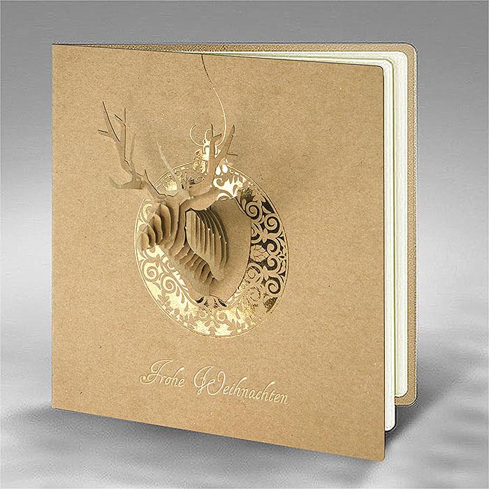 kreative weihnachtskarte fs840 kreativ. Black Bedroom Furniture Sets. Home Design Ideas
