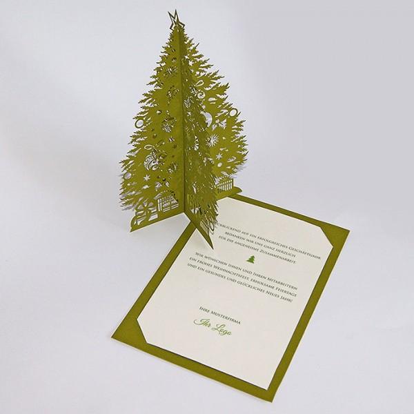 Kreative Weihnachtskarte FS633zl