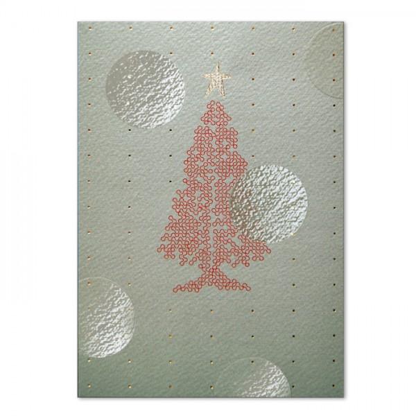 Designer Weihnachtskarte FT7508K