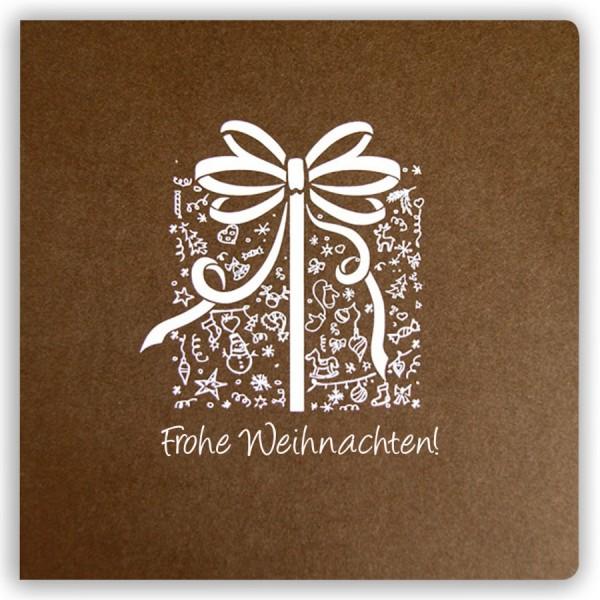 Designer Weihnachtskarte Nr. 179