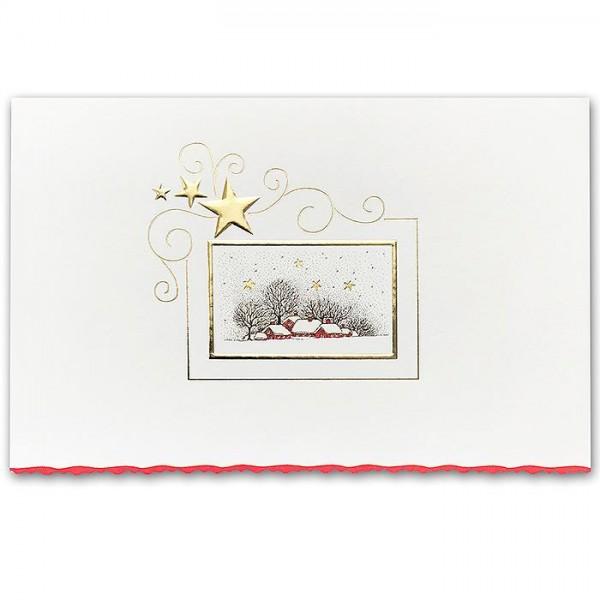 Designer Weihnachtskarte H1849