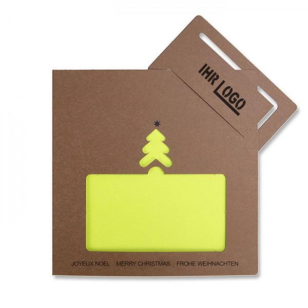 Kreative Weihnachtskarte FS920br