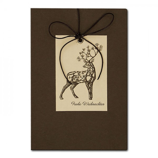 Designer Weihnachtskarte FS815br