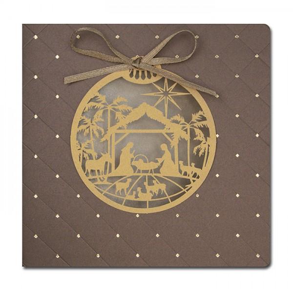 Designer Weihnachtskarte FS756