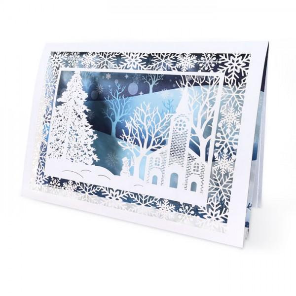 Kreative 3D Weihnachtskarte FS958