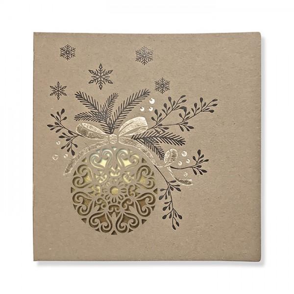 Kreative Weihnachtskarte FS987