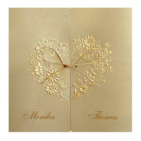 Designer Hochzeitskarte Nr. 12