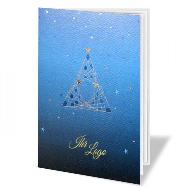 Designer Weihnachtskarte FT7503B15