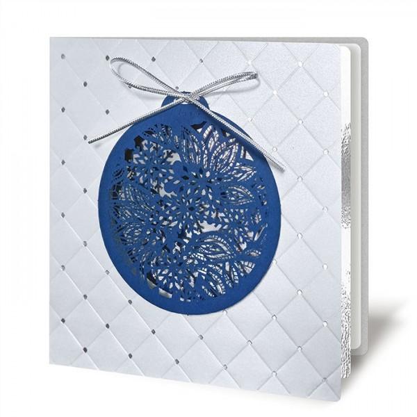Kreative Weihnachtskarte 63025