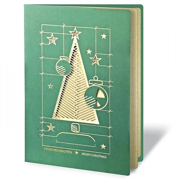 Designer Weihnachtskarte Fs1005