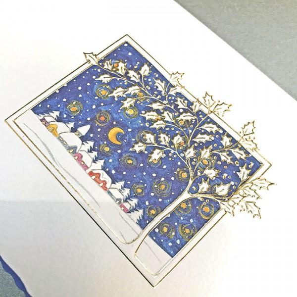 Designer Weihnachtskarte H1722