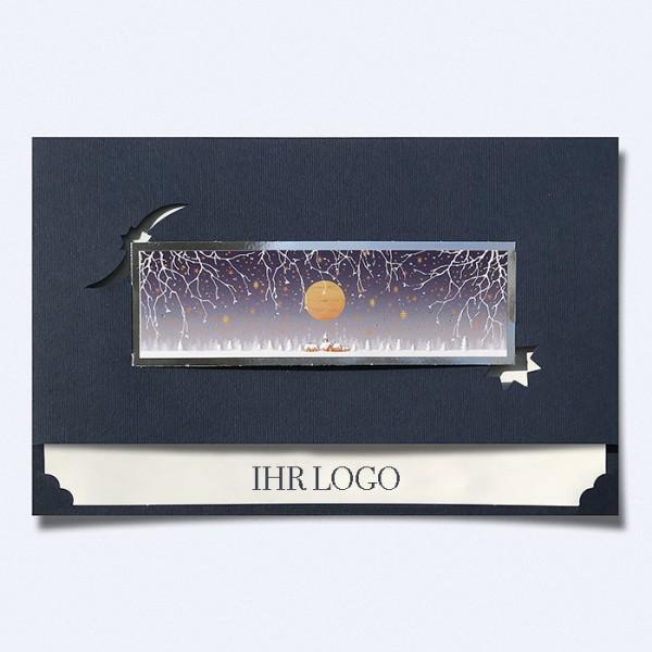 Designer Weihnachtskarte H1841