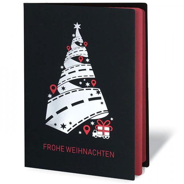 Designer Weihnachtskarte Fs1009