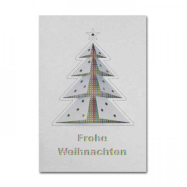 Kreative Weihnachtskarte FS785sp