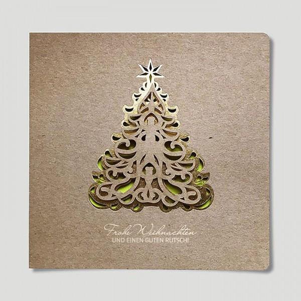 Designer Weihnachtskarte FS941eco