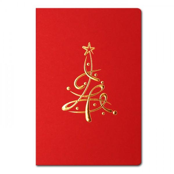 Designer Weihnachtskarte FS848c