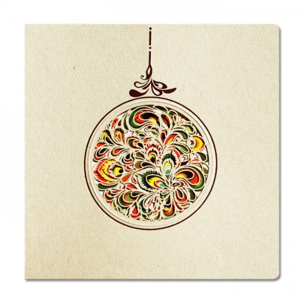 Designer Weihnachtskarte FS456