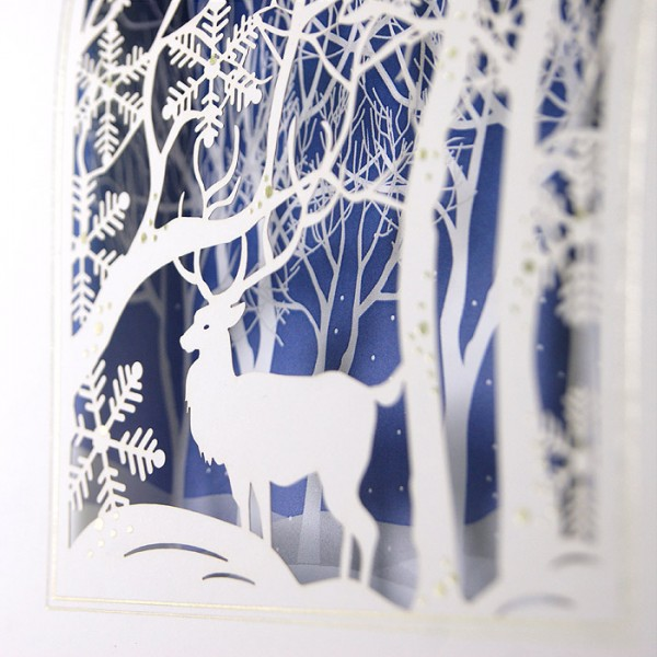 Kreative Weihnachtskarte FS753tb