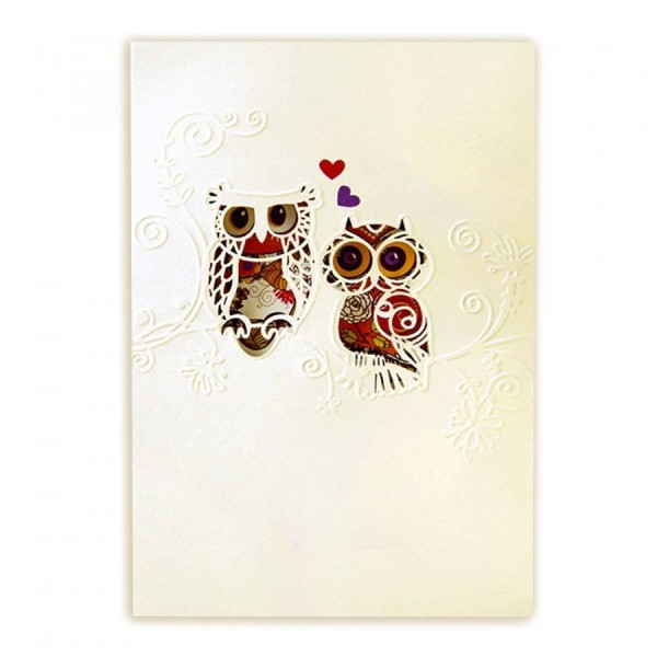 Kreative Hochzeitskarte Nr. 43