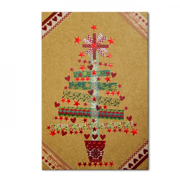 Kreative Weihnachtskarte 02.038.18328