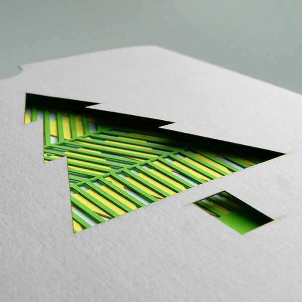 Kreative Weihnachtskarte FS758