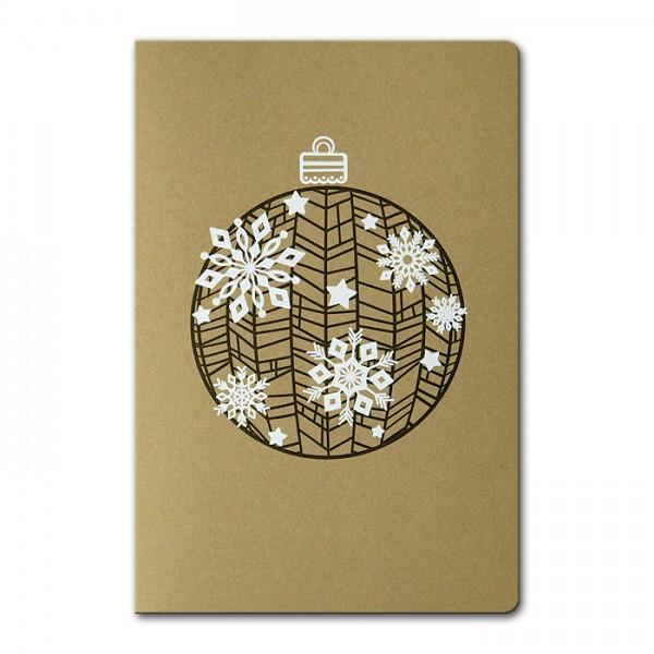 Designer Weihnachtskarte FS775zz