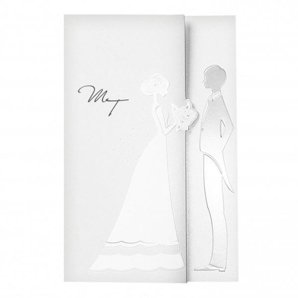 Designer Hochzeitskarte Nr. 47