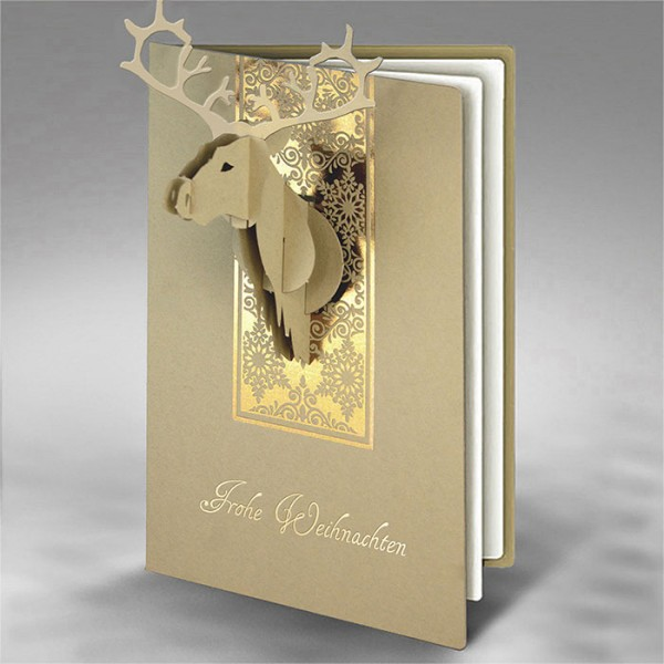 Kreative Weihnachtskarte FS839