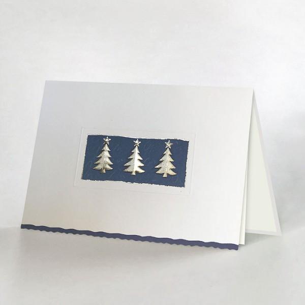 Designer Weihnachtskarte H1658
