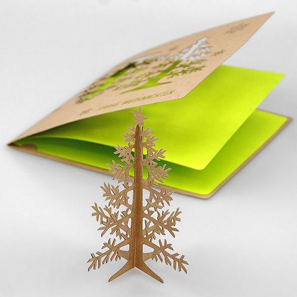 Kreative Weihnachtskarte FS793te