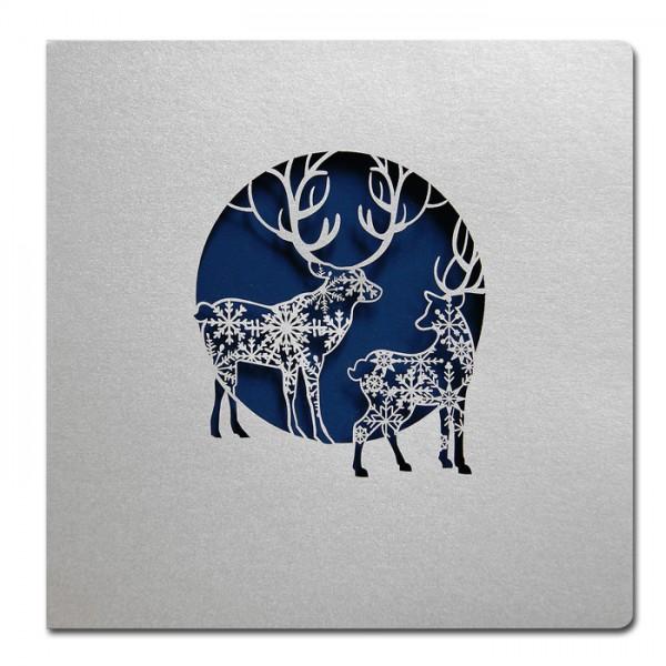 Designer Weihnachtskarte FS730s