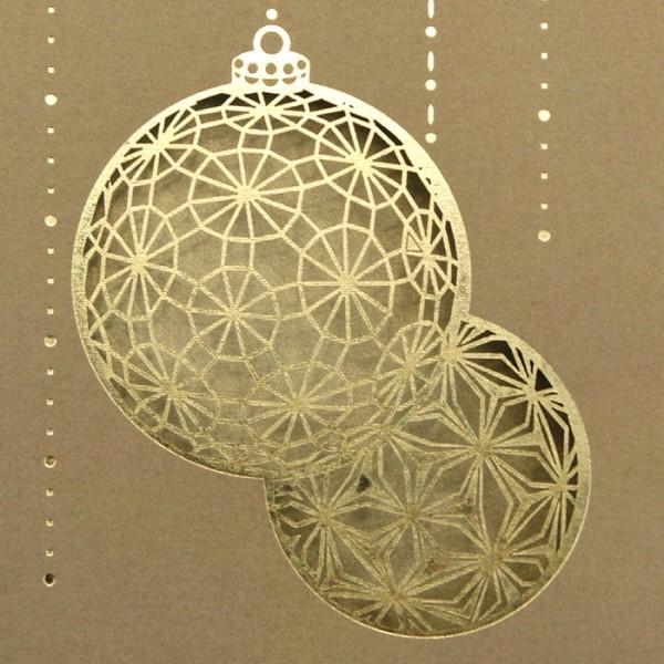 Designer Weihnachtskarte FS632
