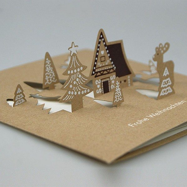 Kreative Weihnachtskarte FS751