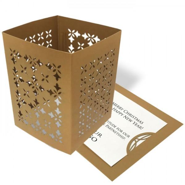 Designer Weihnachtskarte 62325