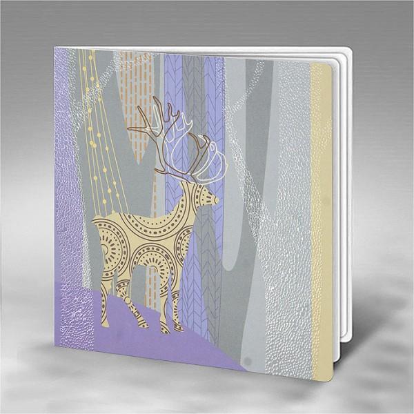 Designer Weihnachtskarte FS807