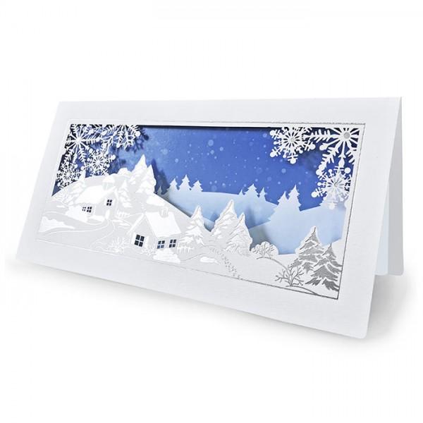 Kreative Weihnachtskarte FS731bs