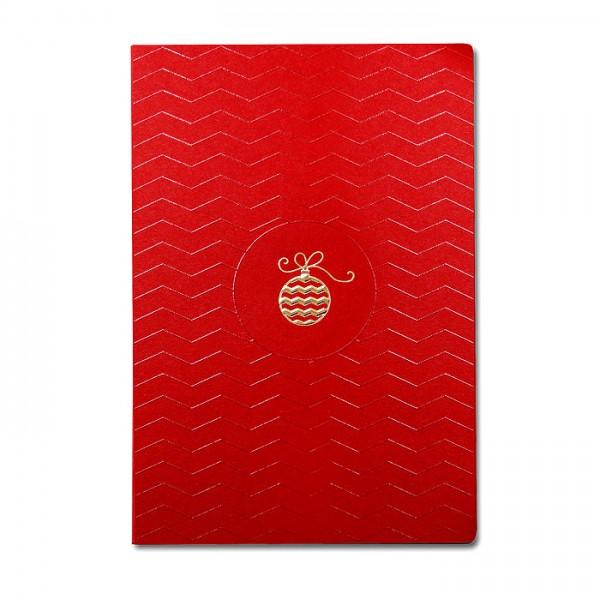 Designer Weihnachtskarte Nr. 190