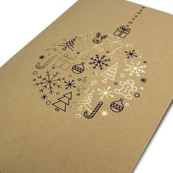 Designer Weihnachtskarte FS883