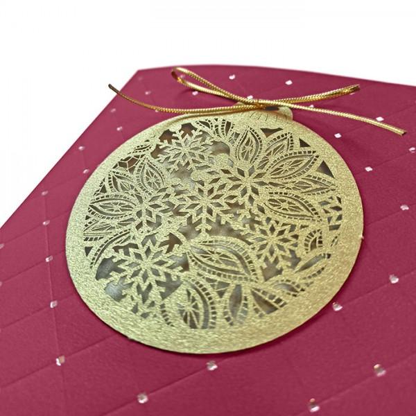 Kreative Weihnachtskarte 63026