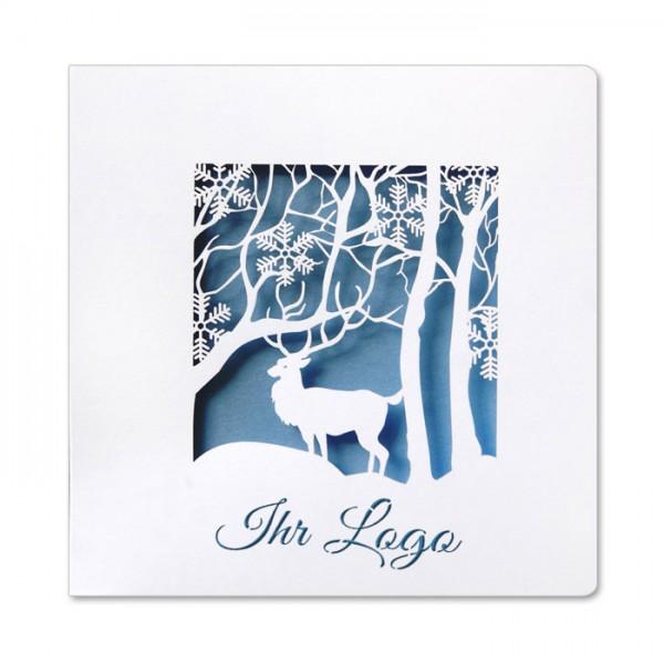 Designer Weihnachtskarte FS734