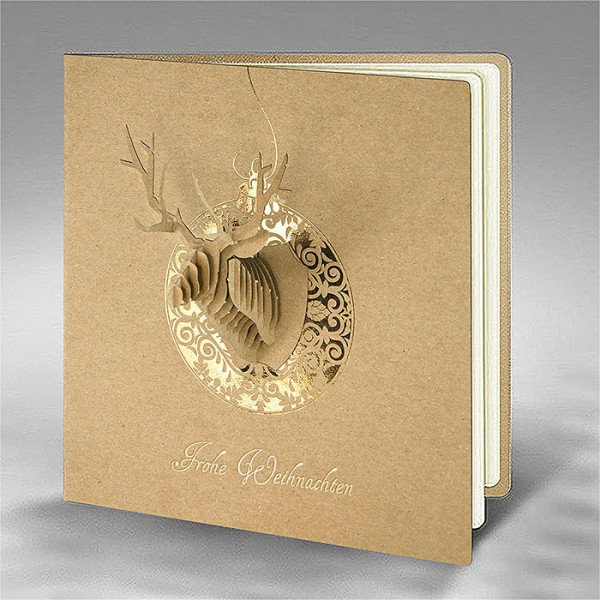 Kreative Weihnachtskarte FS840