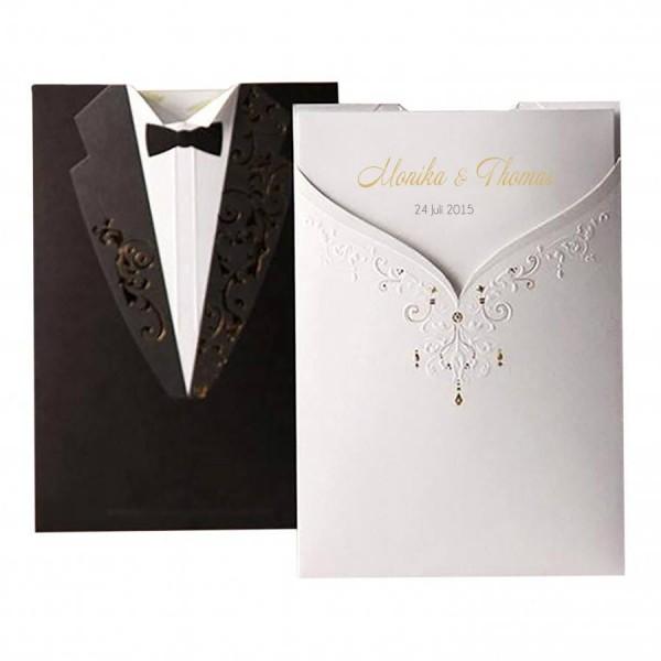 Designer Hochzeitskarte Nr. 34