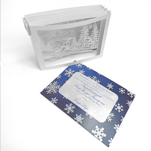 Designer Weihnachtskarte 63016