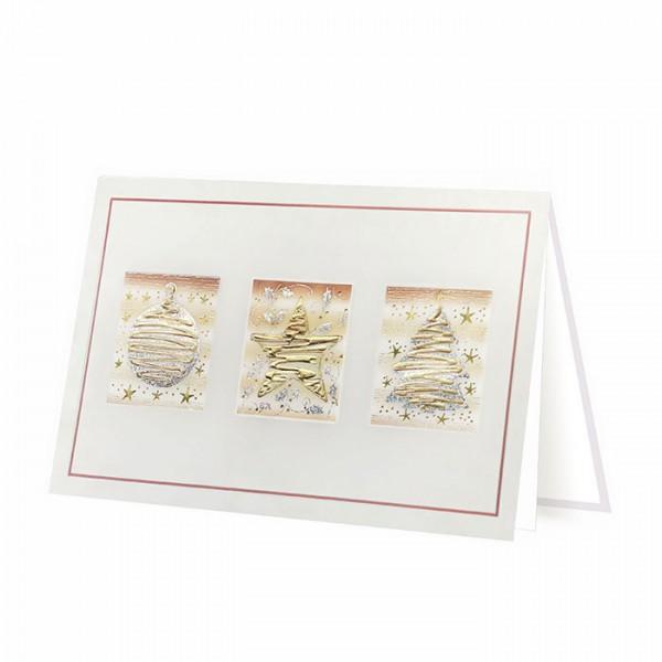 Designer Weihnachtskarte H1716