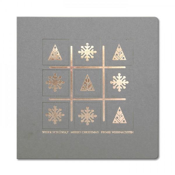 Designer Weihnachtskarte Nr. 197