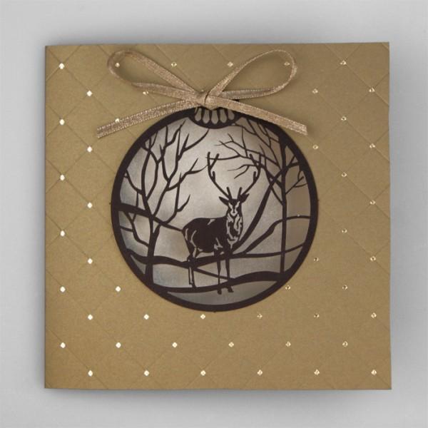 Designer Weihnachtskarte Nr. 193