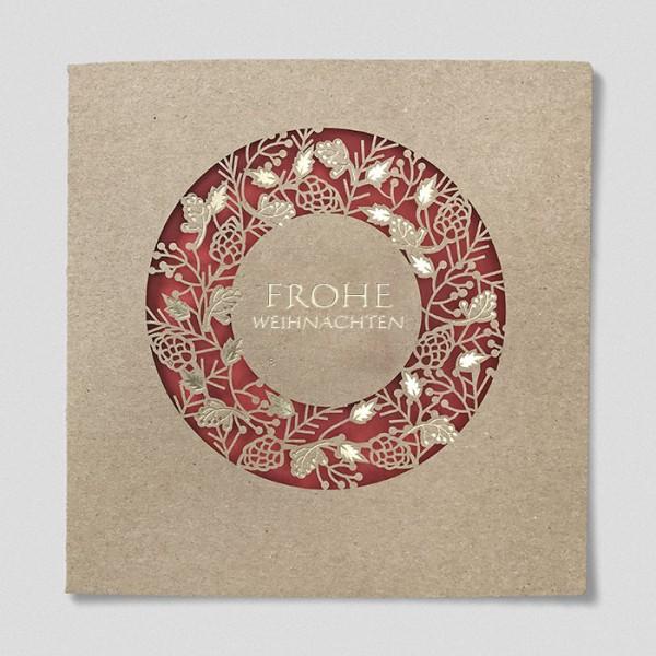 Designer Weihnachtskarte Nr. 241