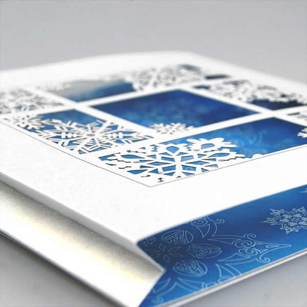 Kreative Weihnachtskarte FS782tb