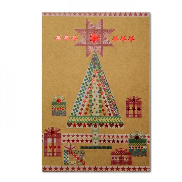 Kreative Weihnachtskarte 02.038.18329