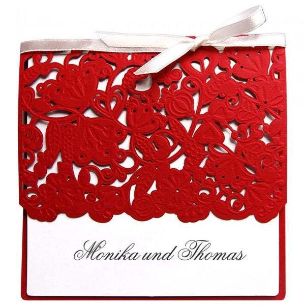 Klassische Hochzeitskarte Nr. 27